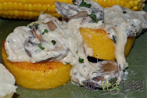 Polenta with mushrooms copy