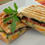 Farmer's Market Grilled Cheese {Vegetarian}