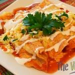 Cheese Enchiladas {Vegetarian}