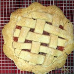 Pink Applesauce Tart