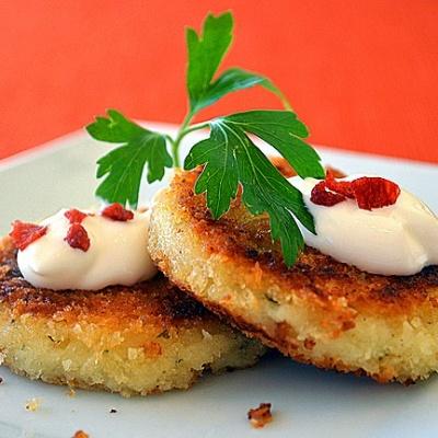 Leftover Mashed Potato Cakes {Vegan}