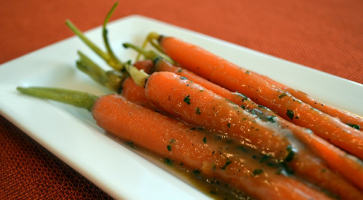 carrots close up