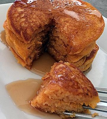 Pumpkin Pancakes {Vegan}