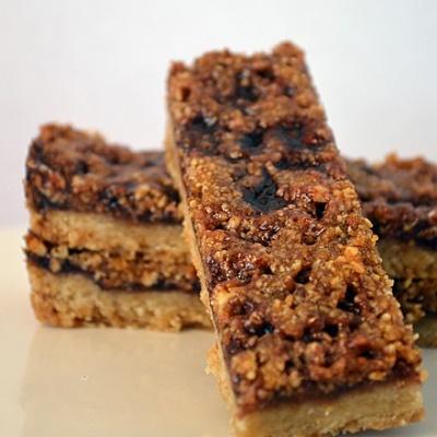 Raspberry Almond Bar Cookies {Vegan}