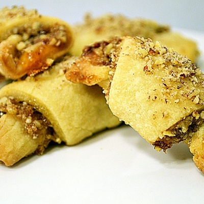 Apricot Rugelach Cookies {Vegan}