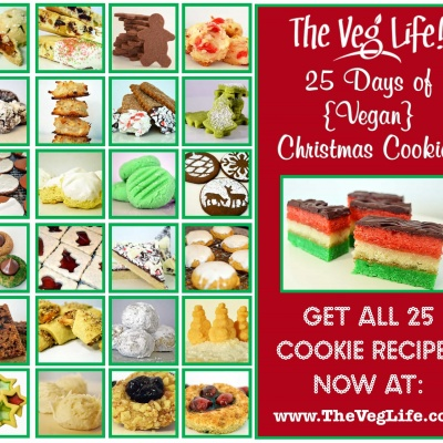 25 Days of Vegan Christmas Cookies!