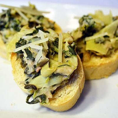 Artichoke, Spinach and White Bean Dip {Vegan}