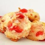 Cherry Coconut Cookies {Vegan}
