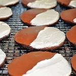 Half Moon Cookies {Vegan}