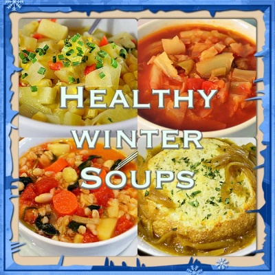 Healthy Winter Soups {Vegan}