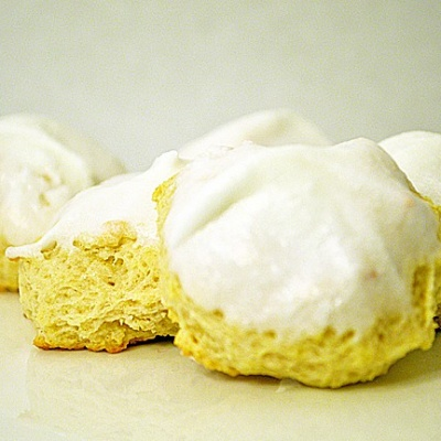 Iced Italian Lemon Drop Cookies {Vegan}