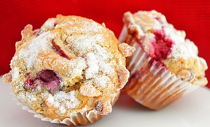 Cranberry Orange Muffins {Vegan} - TheVegLife