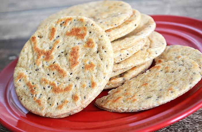 Chia-Flax-Flatbread
