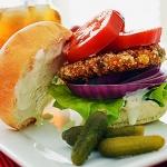 Sweet Potato and Black Bean Burger {Vegan}