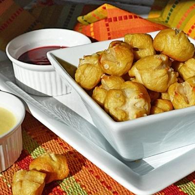 Soft Pretzel Bites {Vegan}