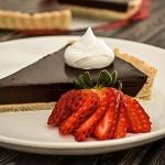 Chocolate Ganache Tart {Vegan}