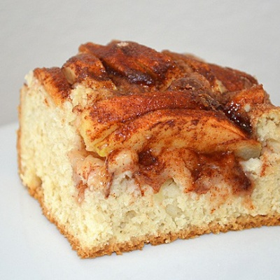 My Grandmother's Dutch Apple Cake {Vegan}