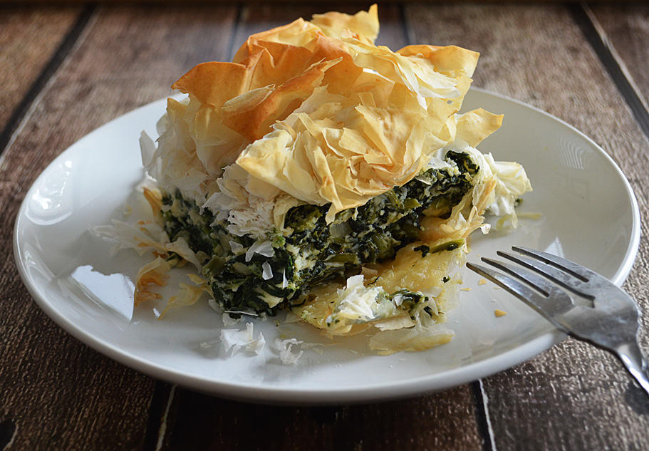 spanikopita spinach pie