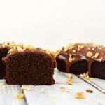 Chocolate Tofu Pound Cake {Vegan}