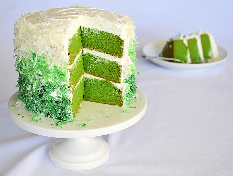 cake with slice