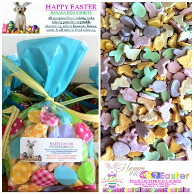 FOR THE DOGS: Easter Dog Treats {Vegan}