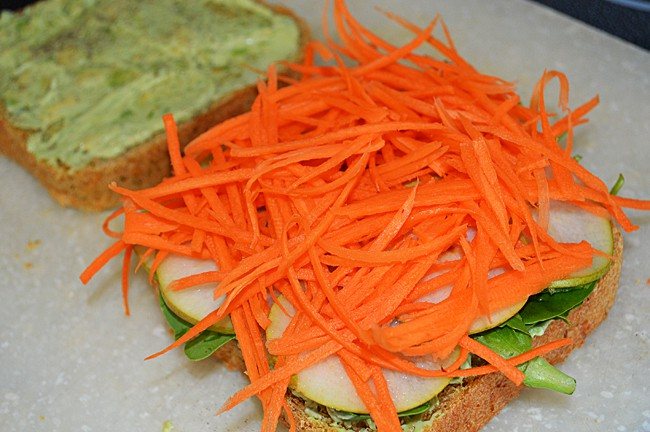 carrot layer