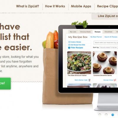 Introducing ZipList on The Veg Life!