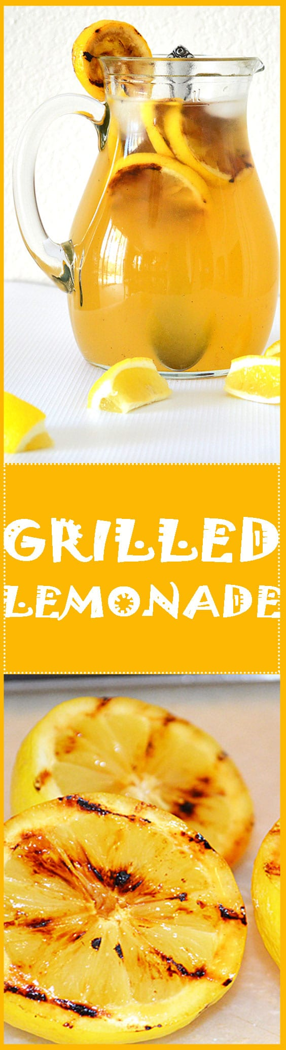 Grilled Lemonade - TheVegLife
