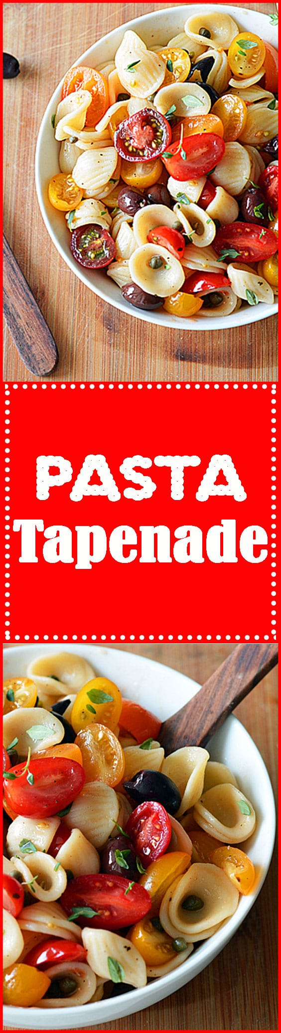 Pasta Tapenade
