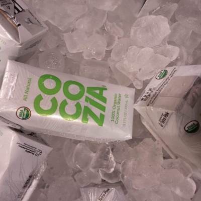 REVIEW:  Cocozia 100% Organic Coconut Water