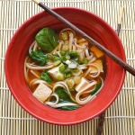 Tofu Noodle Soup {Vegan}