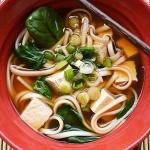 Udon Tofu Noodle Soup