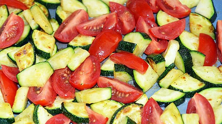 Sauteed Zucchini and Tomato