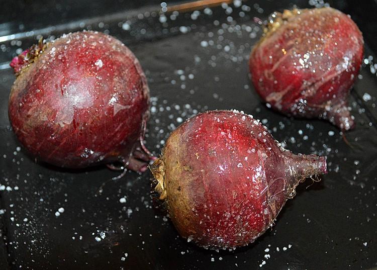 Salt Roasted Beets