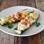 Corn-Stuffed Zucchini