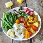 Vegetable Salad Plate