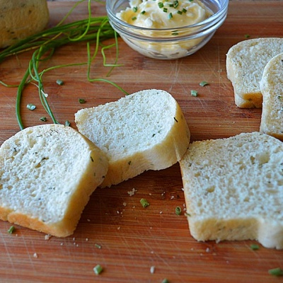 Sour Cream Chive Bread {Vegan}