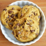 Pumpkin Chocolate Chip Cookies {Vegan}