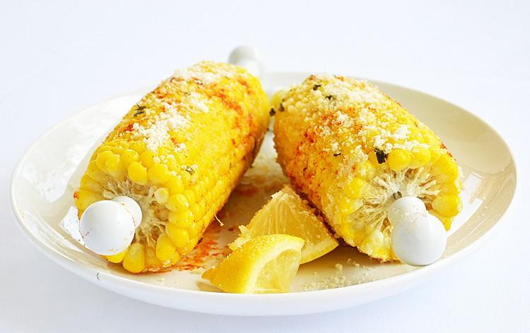 Vegan Parmesan Corn