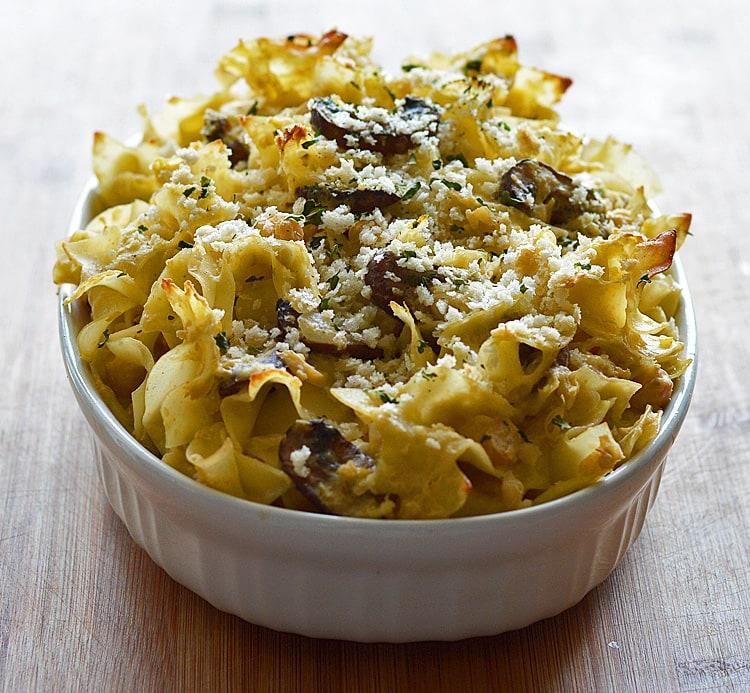 Chickpea Noodle Casserole
