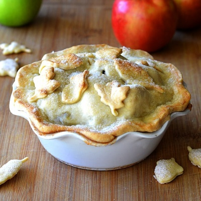 Easy as Apple Pot Pie {Vegan}