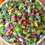 Harvest Salad with Pumpkin Vinaigrette {Vegan}