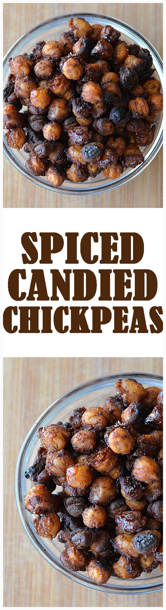 Candied Chickpeas