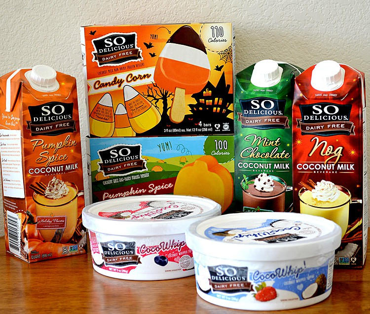 So Delicious Dairy Free New Product Line Up