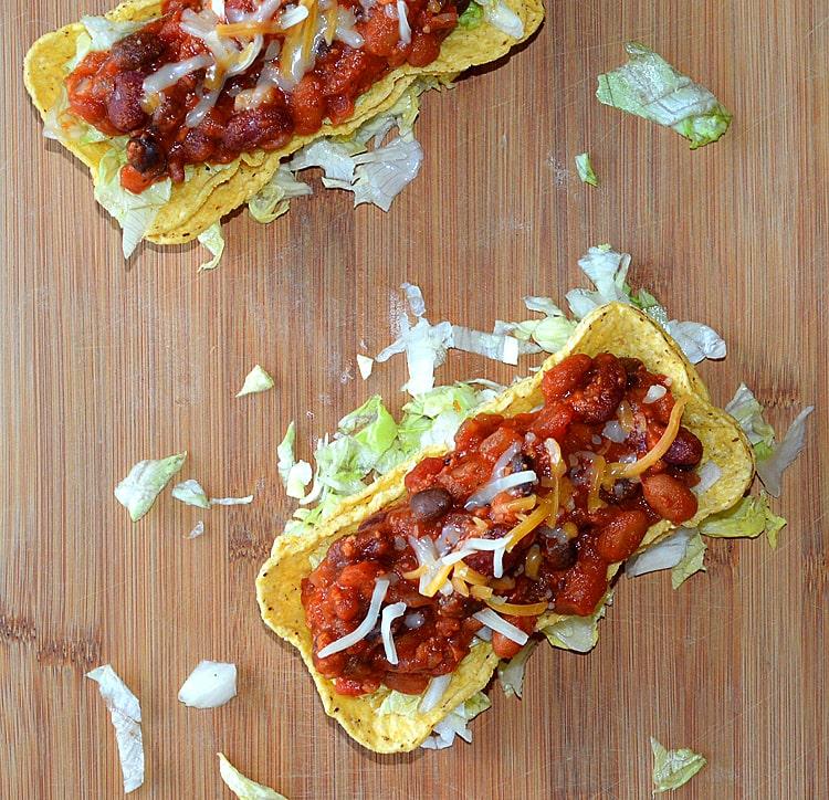 Vegan Chili Tacos