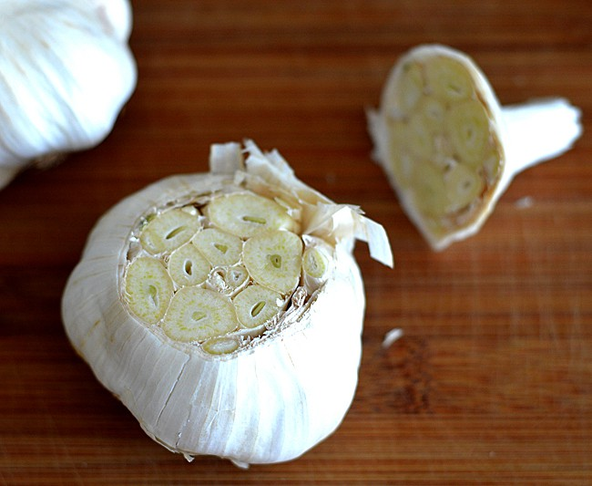 Oven Roasted Garlic