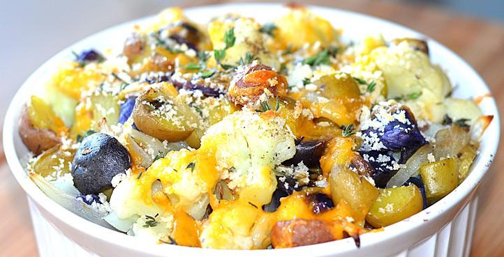Cauliflower Potato Casserole