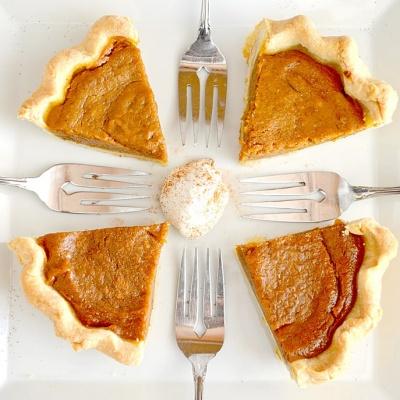 Libby's Pumpkin Pie Copycat Recipe {Vegan}