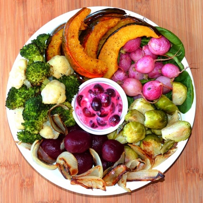 Roasted Nourish Bowl {Vegan}