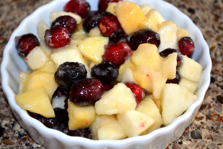 Easy Cranberry Apple Crisp
